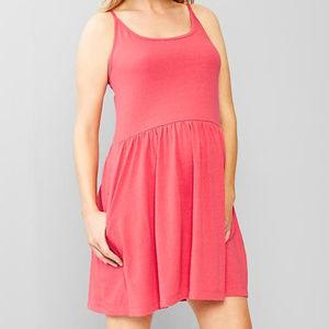 Gap Maternity Salmon Cami Tank Sun Dress